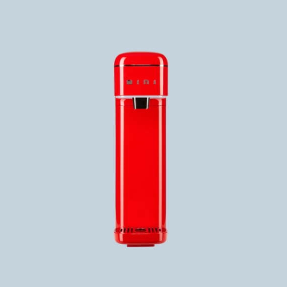 @[SK매직] 초슬림형 직수 정수기 S케어 미니 레드_가로9.2cm