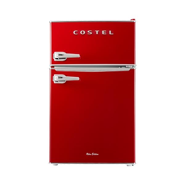@코스텔 냉장고 86L (레드)