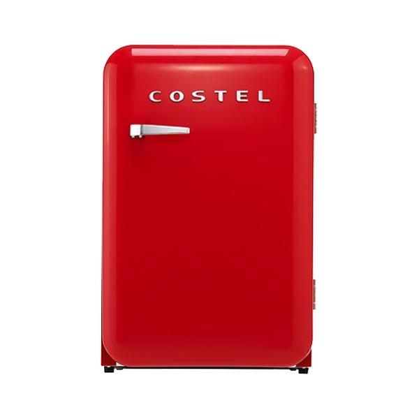 @코스텔 냉장고 107L (레드)