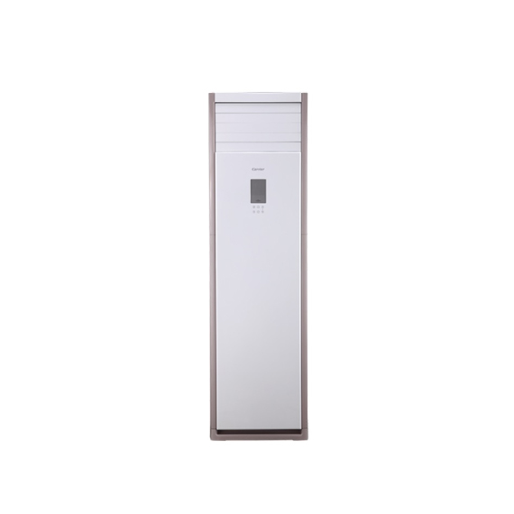 @[캐리어] 인버터 중대형 스탠드 냉난방기 30평 삼상(화이트/메탈핑크 프레임)